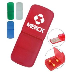 Pill Box w/Bandage Dispenser
