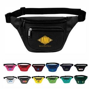3-Zip Fanny Pack, Personalised Fanny Pack, Custom Logo Fanny Pack, Printed Fanny Pack