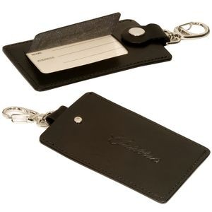 Freedom Swivel Hook Luggage Tag (Silver Clasp)