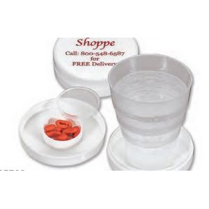Travel Cup & Pill Box