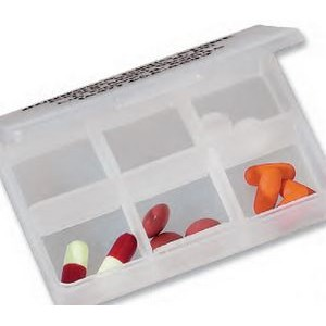 6-Compartment Pill Box