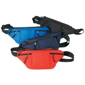 Poly Four-Zipper Fanny Pack