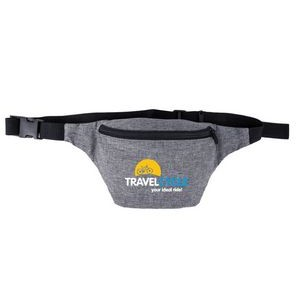 Heather Gray Fanny Pack
