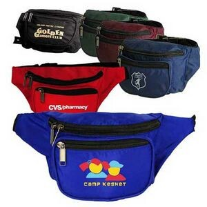3 Zippered Fanny Pack