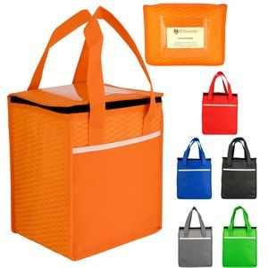 Rectangle Wave Lunch Tote (Blank)