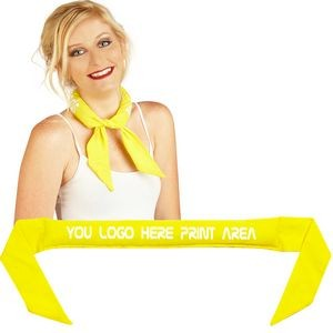 Reusable Coolneckwear Yellow